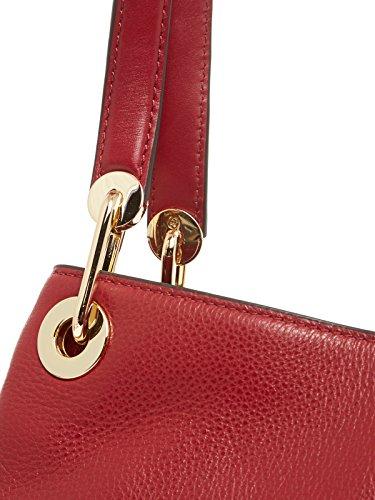 MICHAEL Michael Kors Femmes Grand sac à bandoulière de Raven Rouge Rouge
