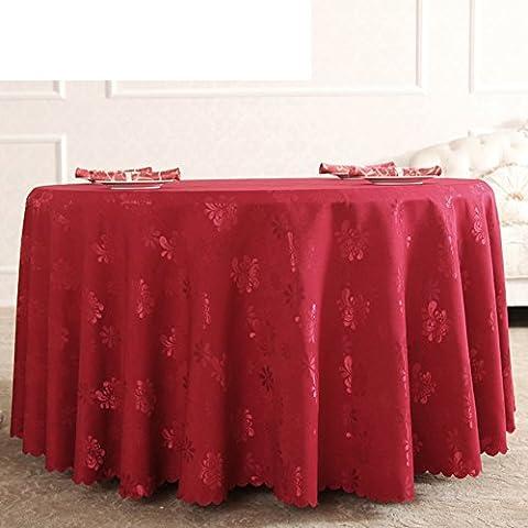 GXX nappes rondes/jardin de style européen Western Wallpapers/ Hôtel table cloth/ nappe/nappe/tissu recouvrant-B diamèGXX280cm(110inch)