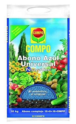 Compo 1418508011 Abono Azul Universal Novatec 10 Kg, 51x26x7 cm