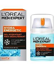 L'Oréal Men Expert Gel Hydratant Maxi Désaltérant Hydra Energetic Visage Homme 50 ml