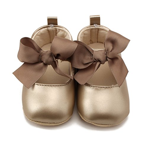 Etrack-Online  Ballet, Baby Mädchen Lauflernschuhe Gold