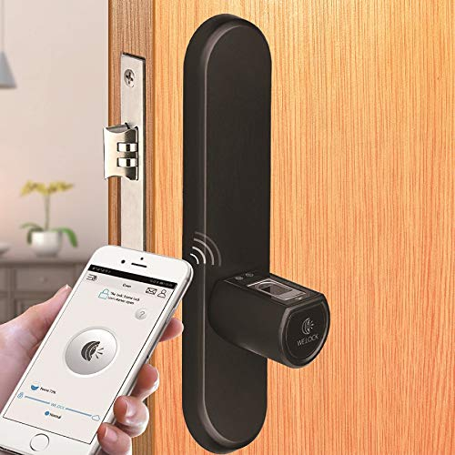 Elektronisches Türschloss WE.LOCK Biometrischer Fingerabdruck und Bluetooth Smart