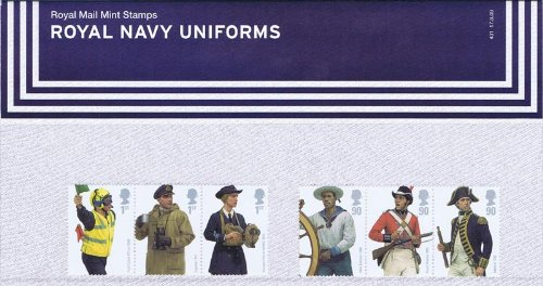 2009 Royal Navy Uniform 431 Staubbeutel geliefert -