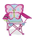 Melissa & Doug - Silla Plegable, Butterfly Chair (16693)
