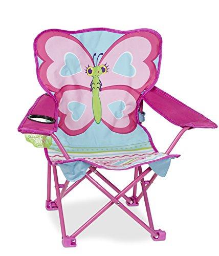 Melissa & Doug - Silla Plegable, Butterfly Chair (16693)