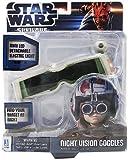 Jazwares 15101 - Star Wars máscara de visión nocturna de juguete - Gafas de visión noctura Star Wars