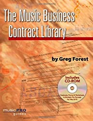 Music Business Contract Library (Hal Leonard Music Pro Guides) by Greg Forest (2008-10-01)