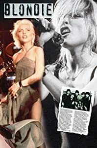 """Debbie Harry Blondie Poster Print Size approx 11.7"""" x 16.5""""- 297mm x 420mm"""