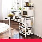 WXP Kitchen furniture - Estante eléctrico del almacenamiento del dispositivo del estante del horno de microondas conveniente para el Ministerio del Interior de la cocina - armarios y armarios cubierto