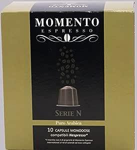Momento Espresso ARABICA 80 Kapseln kompatibel mit