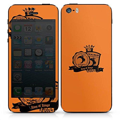 Apple iPhone 4s Case Skin Sticker aus Vinyl-Folie Aufkleber King of Kings Krone Musik DesignSkins® glänzend