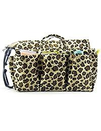 Periea Handbag Organiser 13 Compartments+FREE Key Clip - Dark Gold Lepoard - Nikki