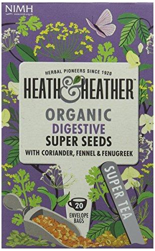 A photograph of Heath & Heather health tea