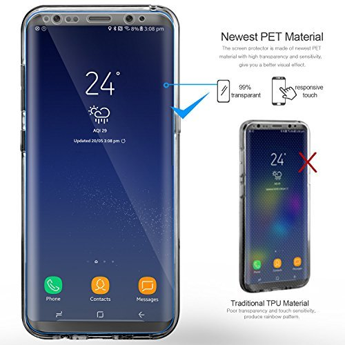 custodia full body silicone samsung s8
