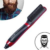 Cepillo alisador ionico Cepillo para el Cabello antiestático Protege el Cabello Los Hombres Mejora la Textura,.