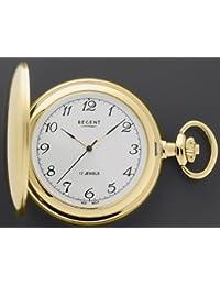 Reloj De Bolsillo Salto Tapa P04Dorado