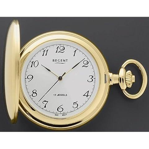 Orologio da taschino salto coperchio P04placcato oro