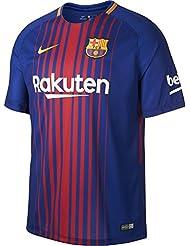 Nike FCB y NK BRT Stad JSY SS HM Camiseta 1ª Equipación Línea FC Barcelona, Niños, Azul (Deep Royal Blue / University Gold), M