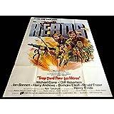 TROP TARD POUR LES HEROS Affiche de Film 120x160-1970 - Michael Caine, Robert Aldrich