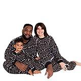 Riou Weihnachten Set Baby Kleidung Pullover Pyjama Outfits Set Familie Frohe Weihnachts kostüme Junge Mädchen Overall Familien Pyjamas Set Schlafanzug (100, Baby)