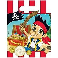Amscan Jake e i Pirati Neverland, sacchetti