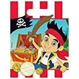 Jake und die Nimmerland Piraten 6 Geschenktüten