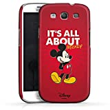 Samsung Galaxy S3 Neo Hülle Premium Case Cover Disney Micky Maus Mickey Mouse