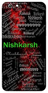 Nishkarsh (Result) Name & Sign Printed All over customize & Personalized!! Protective back cover for your Smart Phone : Lenovo P1 Turbo