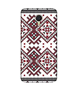 """NH10 DESIGNS 3D PRINTING DESIGNER HARD SHELL POLYCARBONATE """"TRADITIONAL OLD DESIGN"""" PRINTED SHOCK PROOF WATER RESISTANT SLIM BACK COVER MATT FINISH FOR MEIZU M3 NOTE"""