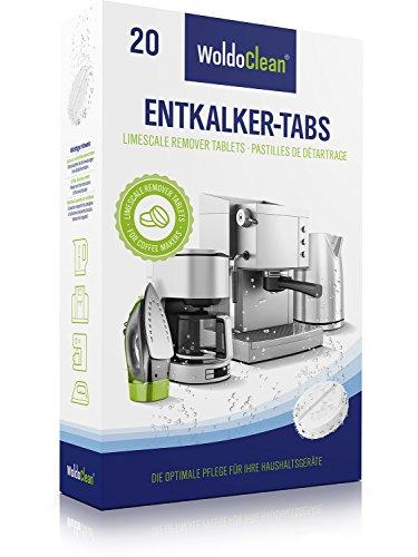 Entkalker 20x Entkalkertabletten Entkalkungstabletten Entkalkertabs für Kaffeevollautomaten - Kaffeemaschinen Wasserkocher Kaffeeautomat Kaffeepadmaschine