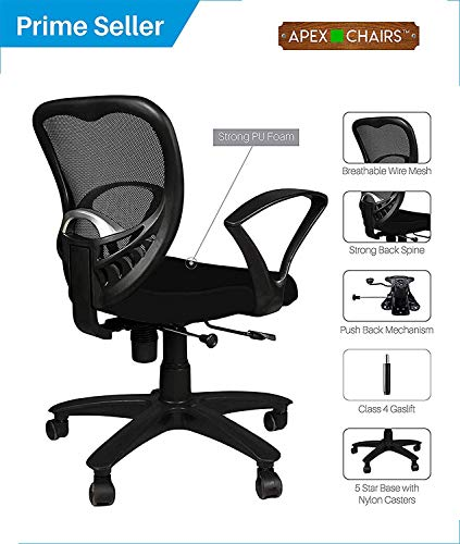 APEX Chairs Delta MB Chair Umbrella Base Office Chair