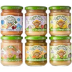 Yammy Pack Frutas Variadas Potito Ecológico Para Bebés 4680 g