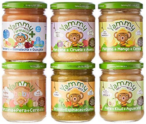 Yammy Pack Frutas Variadas Potito Ecológico Para
