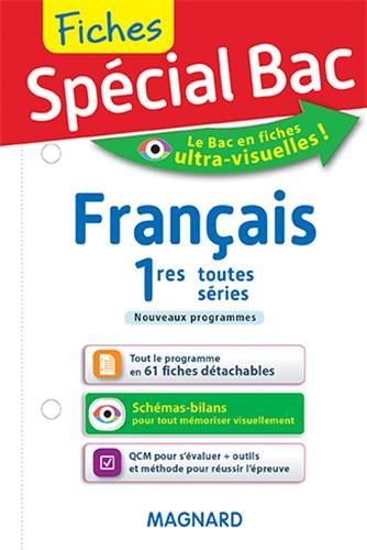 Spécial Bac : Fiches Français 1eres toutes séries par Sylvie Coly
