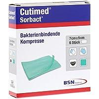 Cutimed Sorbact Kompressen 7x9 cm, 6 St preisvergleich bei billige-tabletten.eu