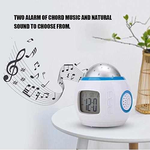 Tonysa Reloj Despertador proyección termómetro