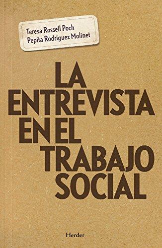 La entrevista en el trabajo social por Teresa Rossell