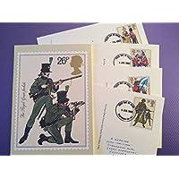 Cartoline l' esercito britannico 68set completo di menta