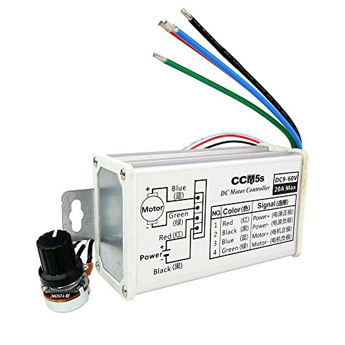 lyws DC 9-60 V 20 A stufenlos variable Motor Speed Controller Regulator ccm5s -