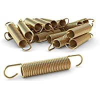 Ampel 24 - Lote de 12 muelles 140x22 mm para camas elásticas de 183 a 305 cm | material reforzado