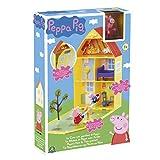 Peppa Pig–Figur–Haus der Peppa mit Garten + 2Figuren, ppc11