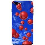 Es regnet Cricketbälle Hartschalenhülle Telefonhülle zum Aufstecken für Apple iPhone 8 Plus