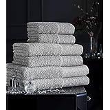 3pc juego de toallas Bale lujo de algodón egipcio, 600g/m² Nuevo Suave