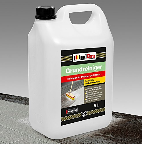 5 Liter GRUNDREINIGER Intensiv Naturstein Reiniger Marmor Fliesen, Stein und Beton L - 20 L Konzentrat