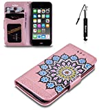 Best Mandala Crafts Friend For Boy And Girls - iPod Touch 5 Case, Huphant Premium PU Leather Review