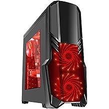 Fierce Ultra rápido Dualcore AMD Gaming PC doméstico (juego de ordenador) - 3,9GHz AMD A-Series A4-6300 - Oficina, computadora de la familia - (WIFI, 8GB RAM, Disco Duro de 1TB, gráficos R7-Series integrados) - 220026