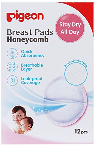 Pigeon Breast Pads - Honeycomb (12 Pieces)