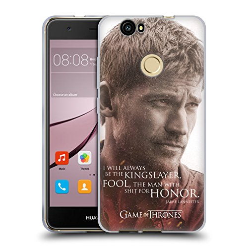 607d6f1d4c7 Official HBO Game of Thrones Jaime Lannister Character Portraits Soft Gel  Case for Huawei Nova