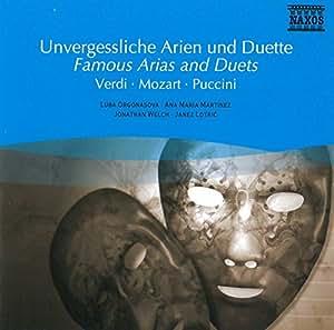 Unvergessliche Arien und Duette