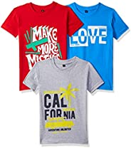 T2F Boy's T-Shirt (Pack o